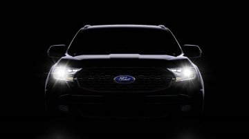New Ford Endeavour Sport teased, to launch next week