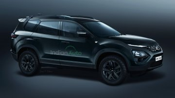 Tata Gravitas Dark Edition Rendered; Here's What The Sporty 7-Seater Could Look Like In Real Life