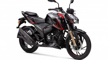 TVS Apache RTR 200 4V now available with single-channel ABS