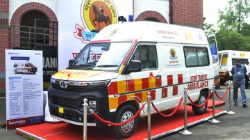 Multiple Tata Winger Ambulances delivered to Zila Parishad of Pune