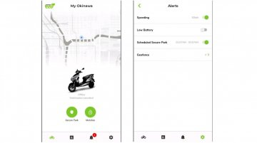 Okinawa Eco App launched for iPraise & Ridge range of electric scooters
