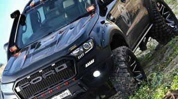 Modified Ford Endeavour gets 7-inch lift kit, looks badass