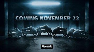 Six new Kawasaki bikes to be unveiled next month [Video]