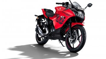 Suzuki Gixxer SF gets a striking new Pearl Mira Red livery