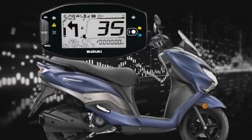 Suzuki Burgman Street 125 now comes with turn-by-turn navigation