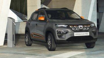 Renault Kwid EV Debuts As Dacia Spring Electric For European Market