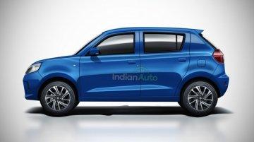 Upcoming New-Gen Maruti-Suzuki Celerio Rendered; Looks Very Sporty