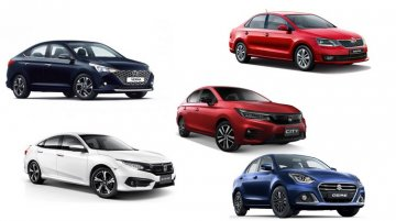 Top 5 Sedans You Can Buy in India Under INR 20 Lakh