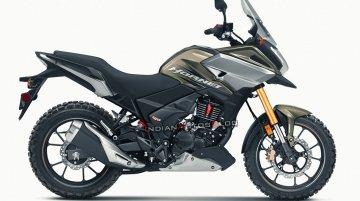 Honda Hornet 2.0-based Adventure model imagined - IAB Rendering