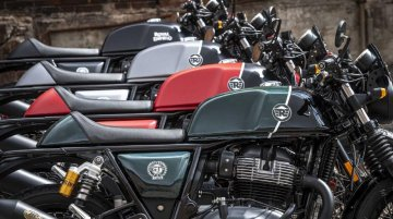 Limited Edition models of Royal Enfield 650 Twins introduced in Italy