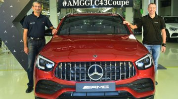 Mercedes-Benz AMG GLC 43 4MATIC Coupe performance SUV launched in India