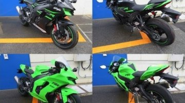 2021 Kawasaki Ninja ZX-10R & Ninja ZX-10RR spotted for the first time