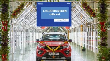 Tata Motors produces 1.5 lakh units of Nexon SUV in 3 years