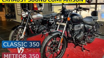 Royal Enfield Meteor 350 vs Royal Enfield Classic 350 - Exhaust Note