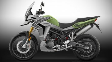 2021 Trident 660-based Triumph Tiger 660 imagined - IAB Rendering