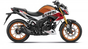 How different is Honda Hornet 2.0 Repsol Edition from the Std model?