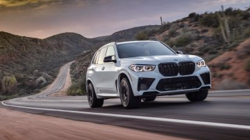 V8-powered BMW X5 M Competition with 600+ hp & 750 Nm launched in India