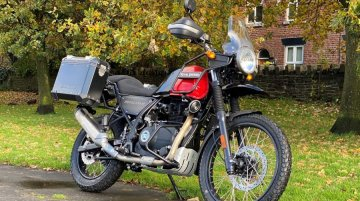 Royal Enfield Himalayan Adventure Edition announced in the UK