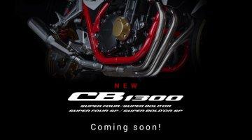 New Honda CB1300 series teased, will have 4 models, global reveal soon