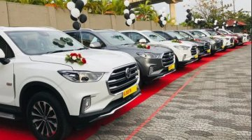 MG Motors Delivers Seven Units Of Gloster In A Single Day In Cochin