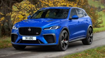 Jaguar F-Pace SVR Facelifted For The International Market