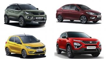 Tata Motors Offering Discounts Of Up To INR 65,000 On Harrier, Nexon and More