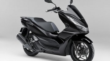 New Honda PCX range of scooters (including a hybrid) introduced in Japan