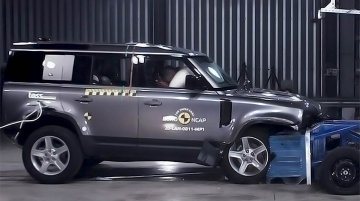 Land Rover Defender Gets A 5-Star Safety Rating From Euro NCAP