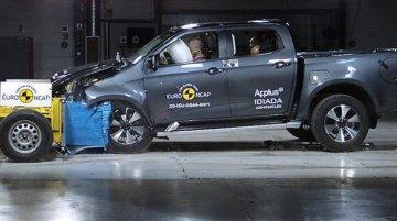 Isuzu D-Max Scores Full 5-Star Safety Rating in Euro NCAP Crash Test