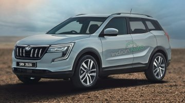 Next-Gen Mahindra XUV500 Rendered Based On Spy Shots!