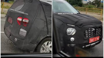 Seven-Seater Hyundai Creta Spied Testing In India For The First Time