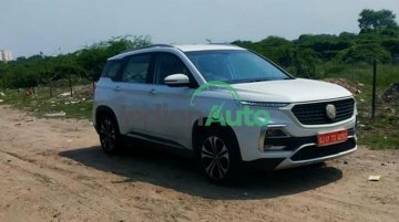 MG Hector Facelift Spied Undisguised; Launch Expected Very Soon