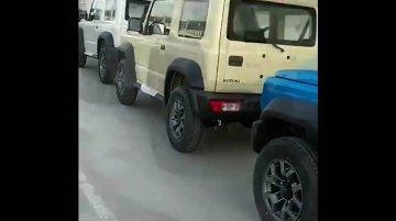 3-door Maruti Suzuki Jimny Assembly Commences In India