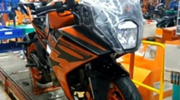 2021 KTM RC 200 spied at a factory, could be launched soon