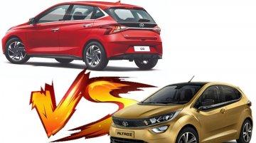 Hyundai i20 vs Tata Altroz - Acceleration Test - Diesel Manual