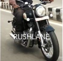 Next-Gen Royal Enfield Classic 350 Spied Completely Undisguised