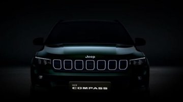 Jeep Officially Teases India-Spec Compass Facelift; Unveil on January 7, 2021