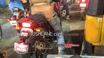 2021 Royal Enfield Himalayan spied undergoing road testing in India