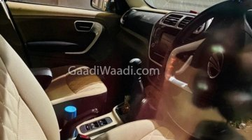Mahindra TUV300 Plus Facelift Interiors Completely Revealed In New Spy Sots