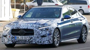 Mercedes-Benz C-Class Facelift Spied Globally With S-Class Like Looks