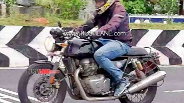 2021 Royal Enfield Continental GT 650 spied testing for the first time