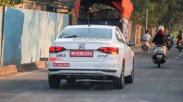 Volkswagen Virtus Spied Testing In India; Previews Vento's Successor?