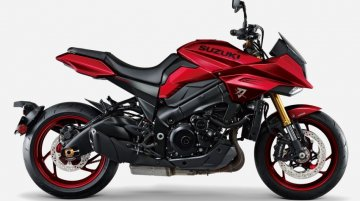 Suzuki Katana in new Candy Darling Red colour goes on sale in Japan