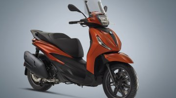 2021 Piaggio Beverly 300 and Beverly 400 scooters unveiled overseas