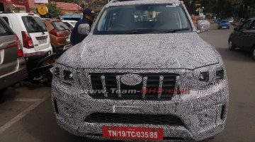 Next-Gen Mahindra Scorpio Seen In Production-Spec Guise For The First Time