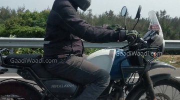 2021 Royal Enfield Himalayan spied again; to feature Tripper Navigation