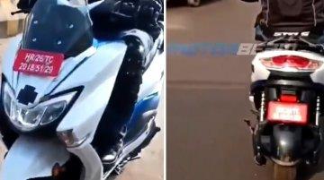 New Suzuki Burgman Electric spy video reveals new features of the E2W