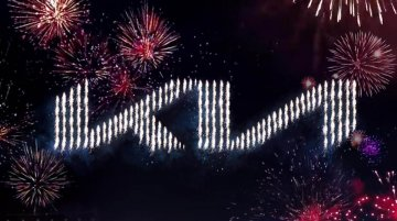 Kia Unveils New Logo And Sets A New Guinness World Record Doing It!