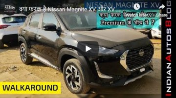 Nissan Magnite XV Trim Features Explained In Detailed Walkaround Video