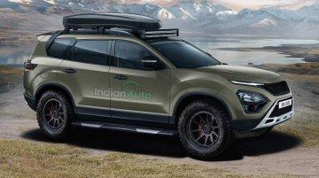2021 Tata Safari Imagined As A Hardcore 4x4 Off-Roader - Rendering